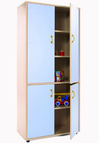 600403 mueble alto armario 4 puertas mobiliario for Mueble 4 puertas