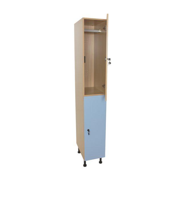 600613 mueble taquilla 2 ni os as 125 cm alto con llave for Mueble 25 cm ancho