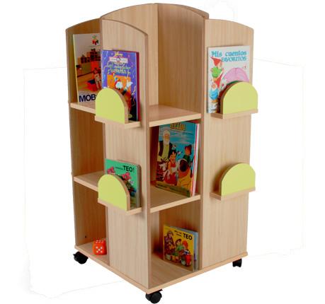 602101 torre expositor de libros mobeduc mobiliario - Mobiliario para libreria ...