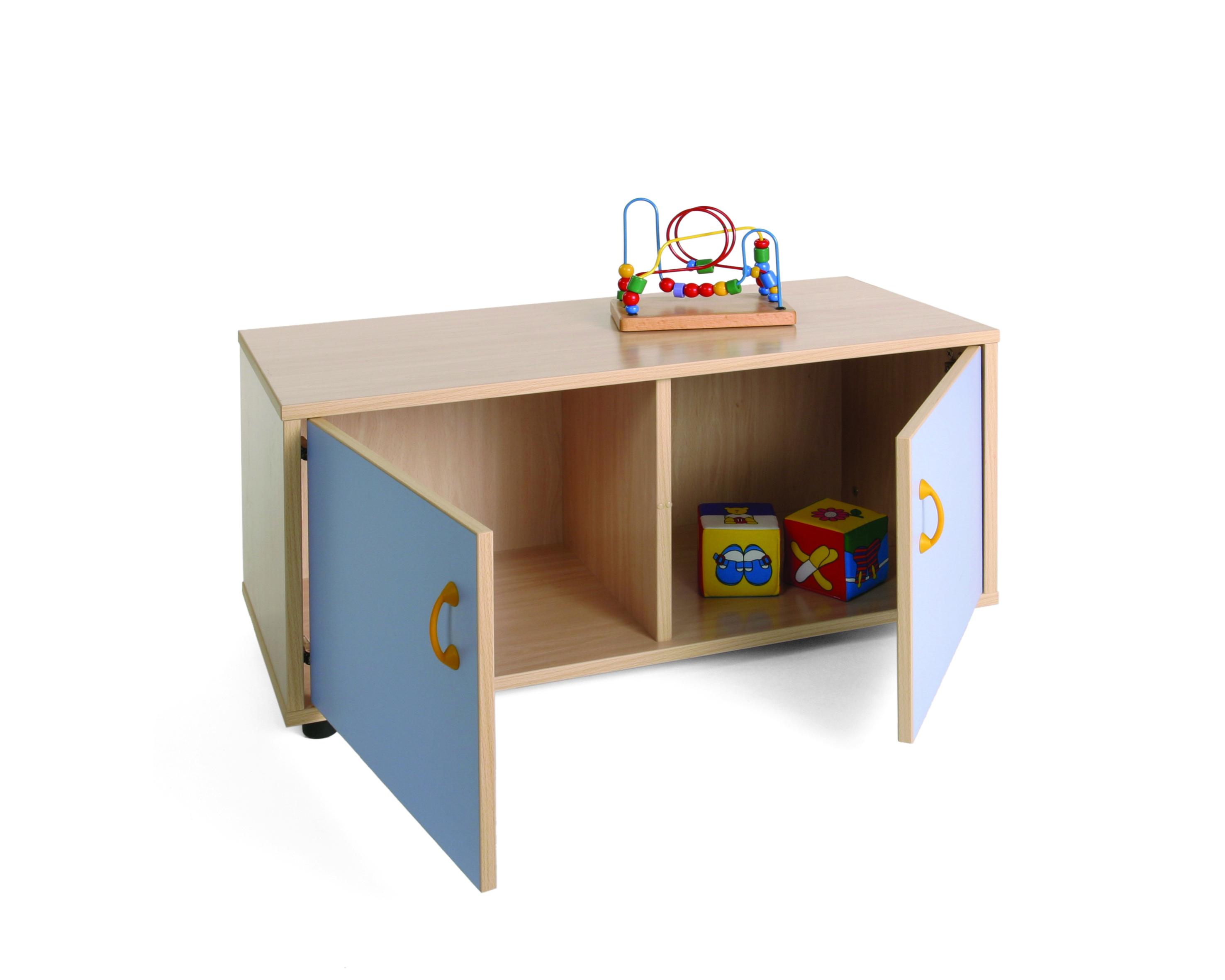 600106 mueble superbajo armario 2 casillas mobiliario escolar mobeduc - Mueble armario ...