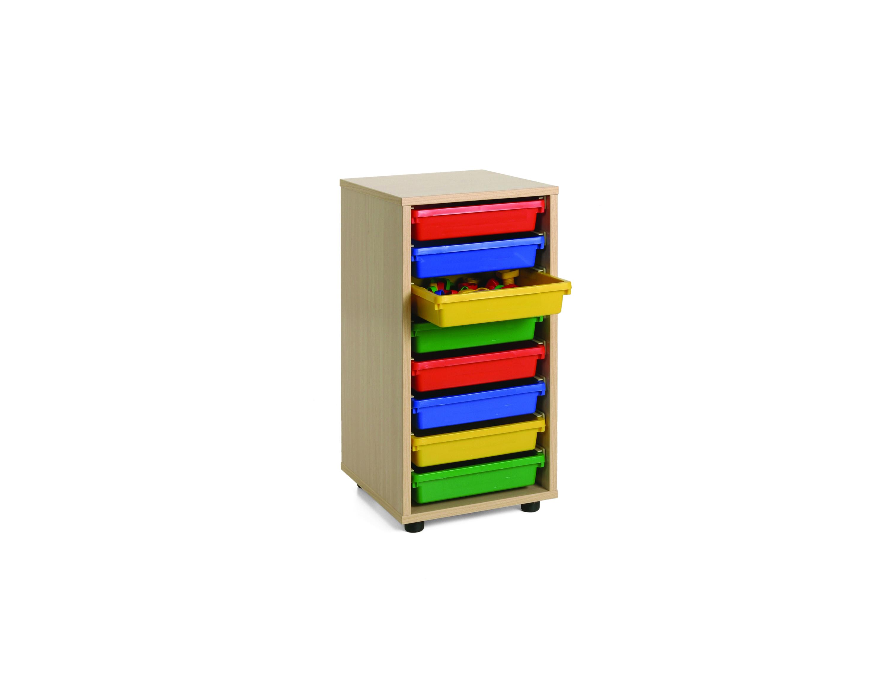 600209 mueble bajo cubetero 1 columna mobeduc for Mueble bajo mb9 05