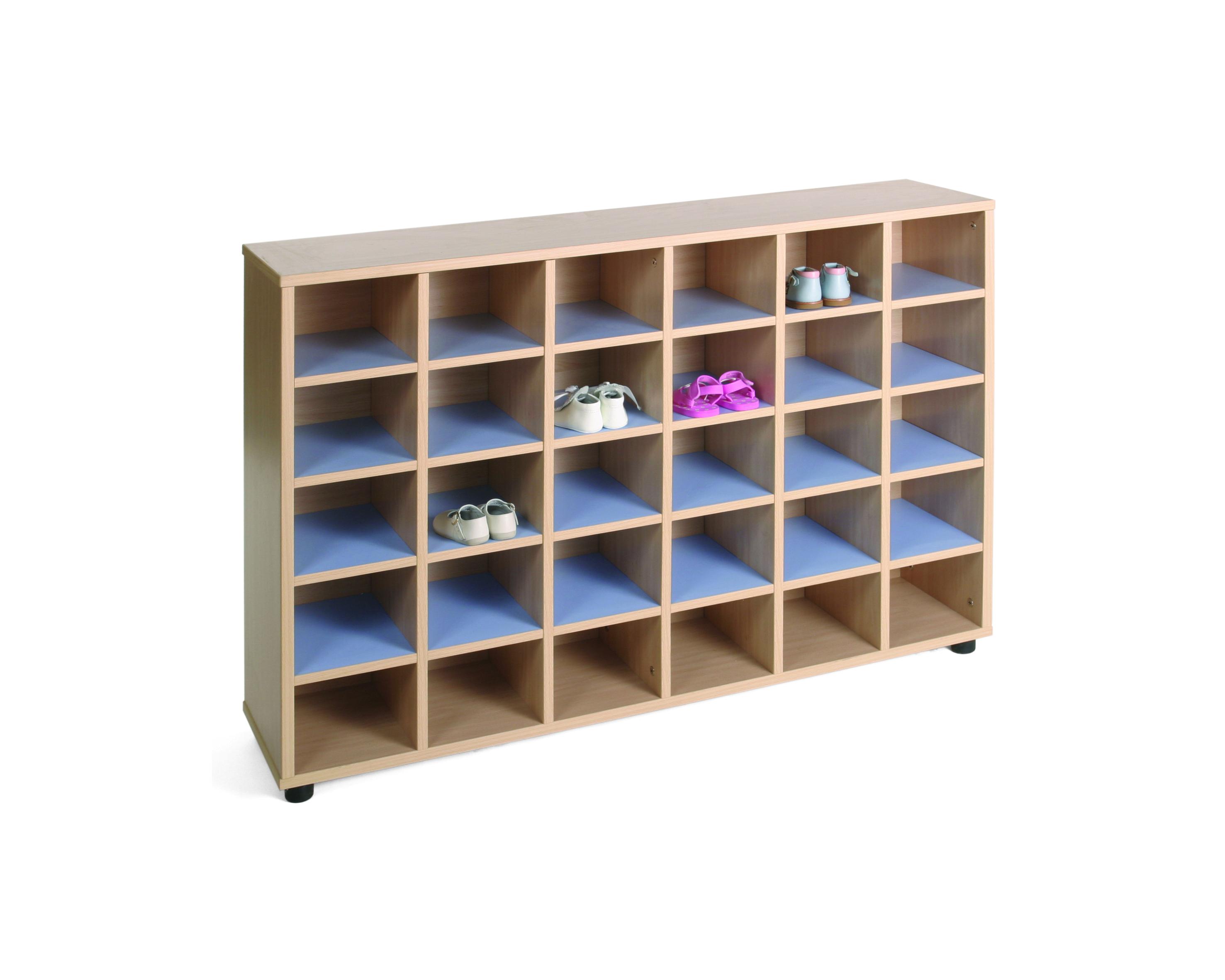 600603 mueble zapatero mobeduc mobiliario escolar for Mueble zapatero 30 pares
