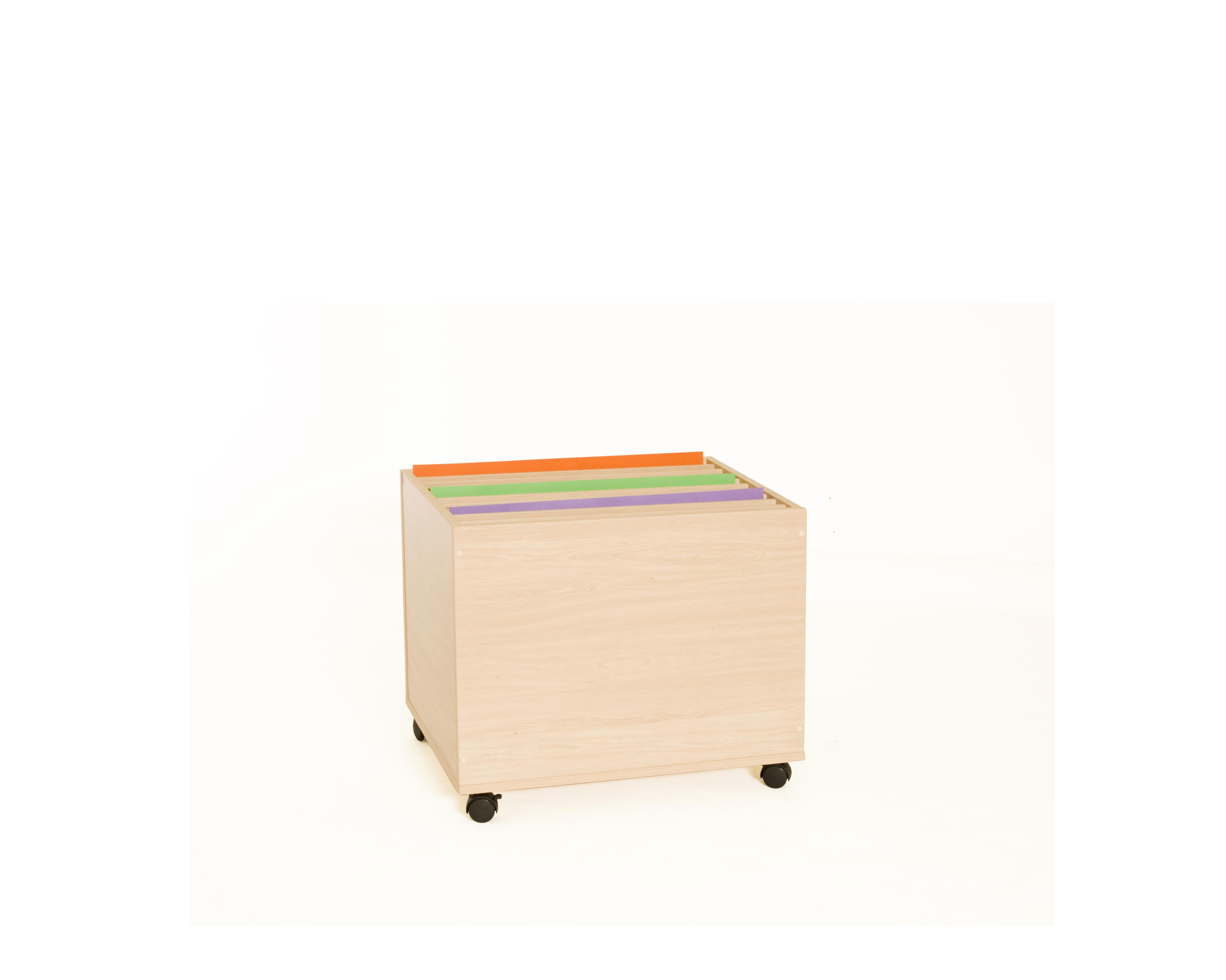 600909 mueble archivador de cartulinas vertical for Mueble archivador