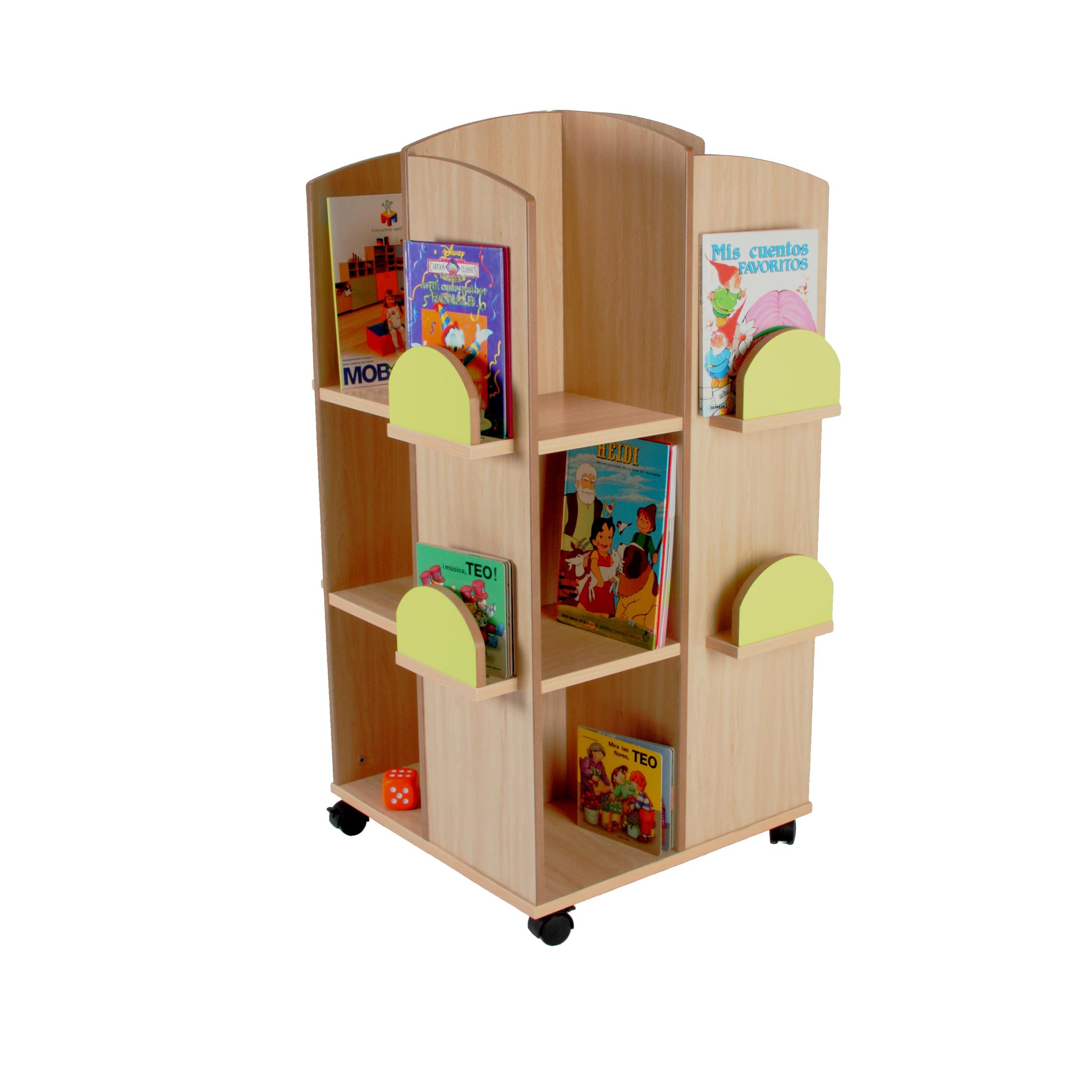 602101 torre expositor de libros mobiliario escolar