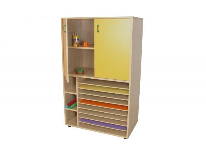 602212 mueble cartulinero y armario ancho 105 for Mueble 25 cm ancho