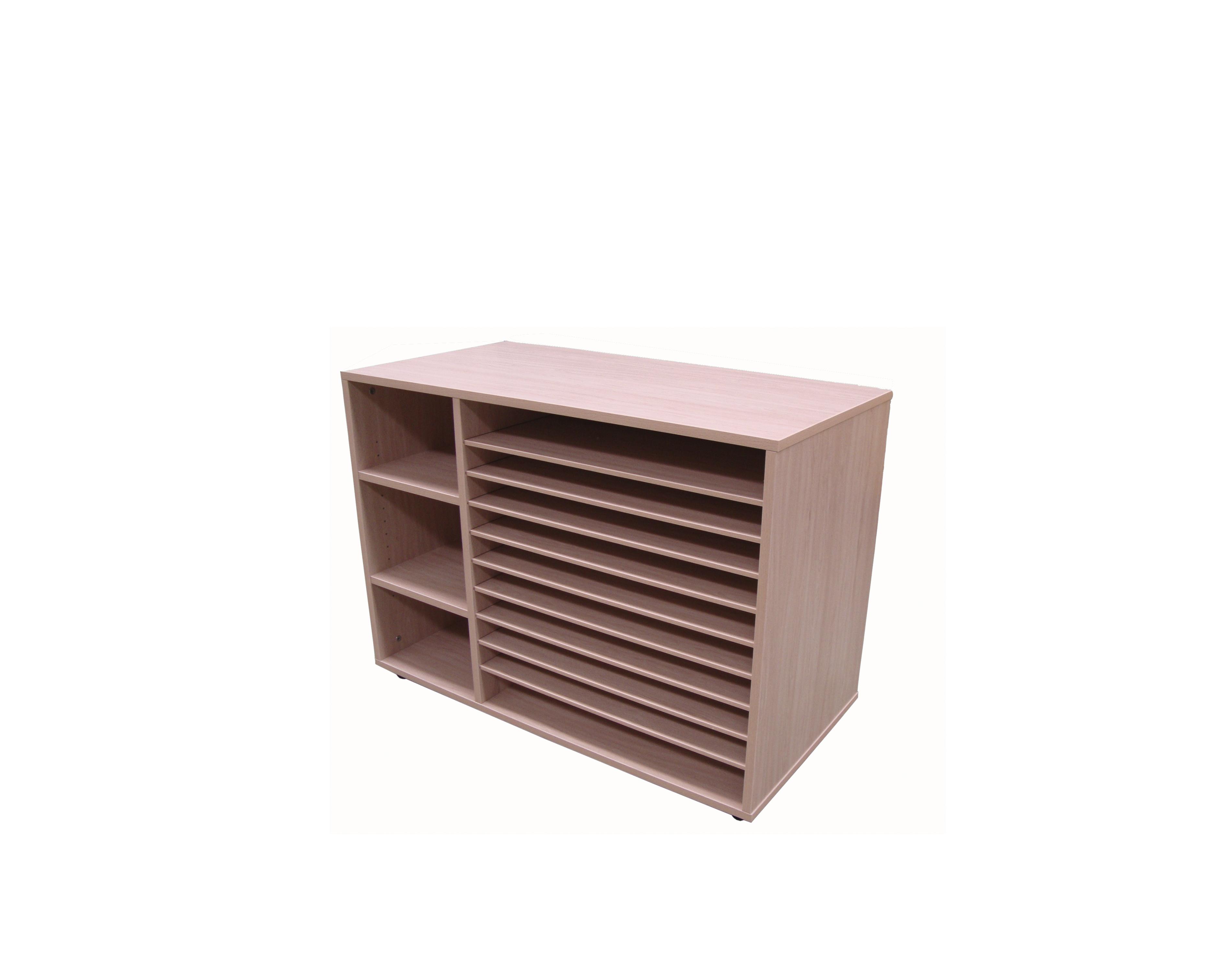 602213 mueble estanter a y cartulinero bajo mobeduc for Mueble bajo mb9 05